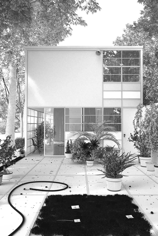 Eames House / Portfolio / Guachinarte